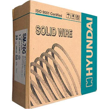 High current for welding solid wire