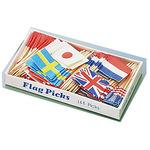 Flag pick bunting (country mix)