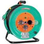 Outdoor-type single-phase 100V ground with Electric Works drum