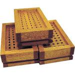 High-speed steel precision combination engraved wooden box (for B set)