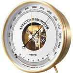 Aneroid Barometer with Thermometer