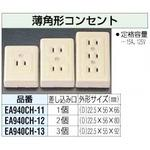 Thin rectangular outlet [1-neck]