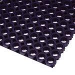 Honeycomb rubber mat L body 495 x 745mm