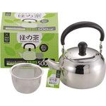 Ho with the tea stainless steel vine teapot