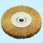 Steel Wire Plated Wheel Brush