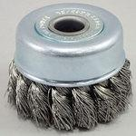 SUS 304 stainless steel honeycomb cup brush