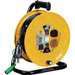 Breaker reel single phase 100 V with ground 10 m with thermocut