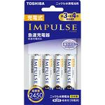 Rechargeable impulse high capacity type fast charger set