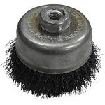 phi 75 cup brush steel wire