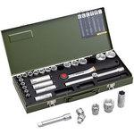 29-point socket wrench set 1/2