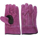 No.446 Purple in cotton leather hand