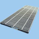 Pressure-contact type grating specific non-slip WOS-X type