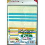 Leisure Sheet Candy Stripe (L)