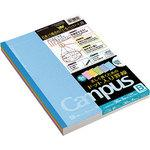 Campus Notes (dot-filled border color cover) 5-color pack B ruffled