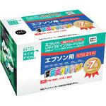 Recycle ink EPSON compatible IC 21 type 7 color pack