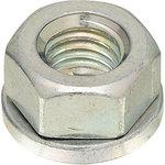 Spring Nut, Iron/Tri Chromate