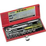 Socket wrench set Metal Case Set