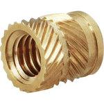 Ultrasonic Fitted Threaded Insert SL Type, RoHS Compliant Products, Brass, Pack Product