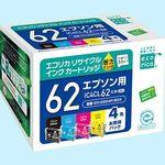 Recycling Ink, EPSON Corresponded, IC4CL62 Type 4 Color Set