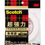 3M Scotch Super strong double-sided tape Premier Gold Multi use