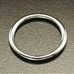 225kg / 25.4mm ring (made of stainless steel)