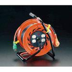 AC125V/15A/30m electrical outlet fixed reel(based on standing with the ground)
