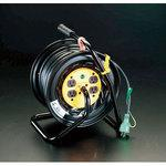 AC125V/22A/30m electrical outlet fixed reel(with the ground)