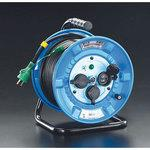 AC125V/22A/30m cord reel(rainproof type/with ground)