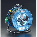 AC125V/22A/30m cord reel(with rainproof type/breaker)