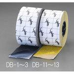100mmx18.3m slip tape (water and oil/yellow)