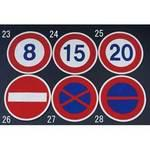 phi600mm road road signs [20]
