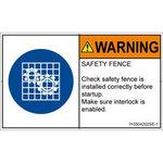 PL warning labels (ISO / SEMI compliant) instructions: safety guard wear English
