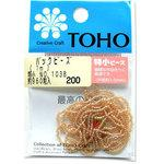 TOHO threading beads special