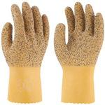 Natural rubber gloves Twaron grip No.141
