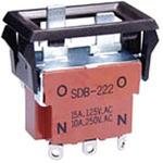 SDB type push button switch