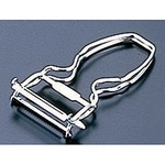 Stainless Handy 2 flute peeler (dual)