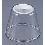 Heat-resistant glass pudding cup