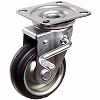 Swivel Caster With Right Hand Brakes Ohjb Press, Input Bearing