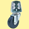 Sa Swivel Caster, Double Bearing) Angle System Rubber Wheel