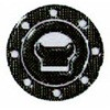 Carbon tank cap cover 3-piece SUZUKI