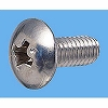 Truss Head Machine Screw, Stainless Steel