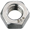 One Sort, Stainless Steel) of Hex Nuts Inch Wit
