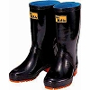wide leg rubber boots