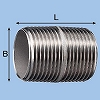 Stainless Steel Round Nipple