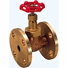 150-inch bronze globe valve (glass fiber-containing PTFE disuccinimidyl-flange type) (DBH series)