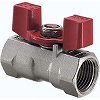 Model 600 Stainless Steel Ball Valve, Butterfly Handle, Reduced Bore) UTKW Series KITZ