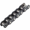 Oil-free type roller chain