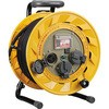 Single-phase 100V type breaker reel 30m with earth (hooking)