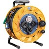 Rainproof breaker reel 50 m with earth